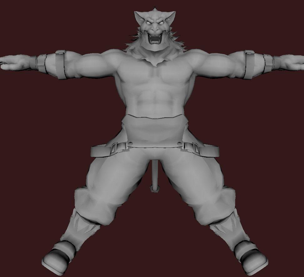 Models of Street Fighter X Tekken characters #62
