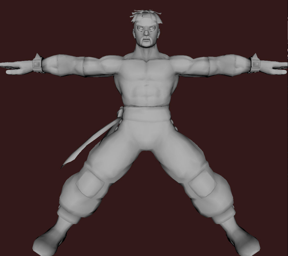Models of Street Fighter X Tekken characters #66