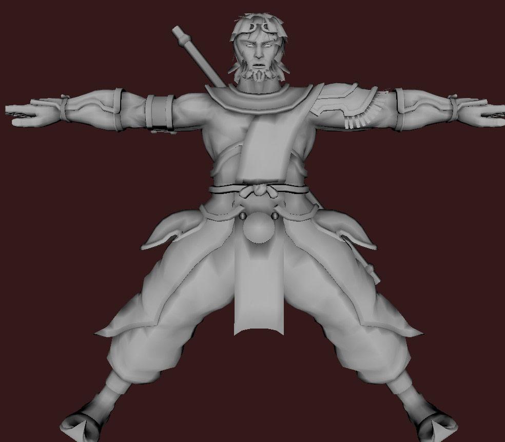Models of Street Fighter X Tekken characters #67