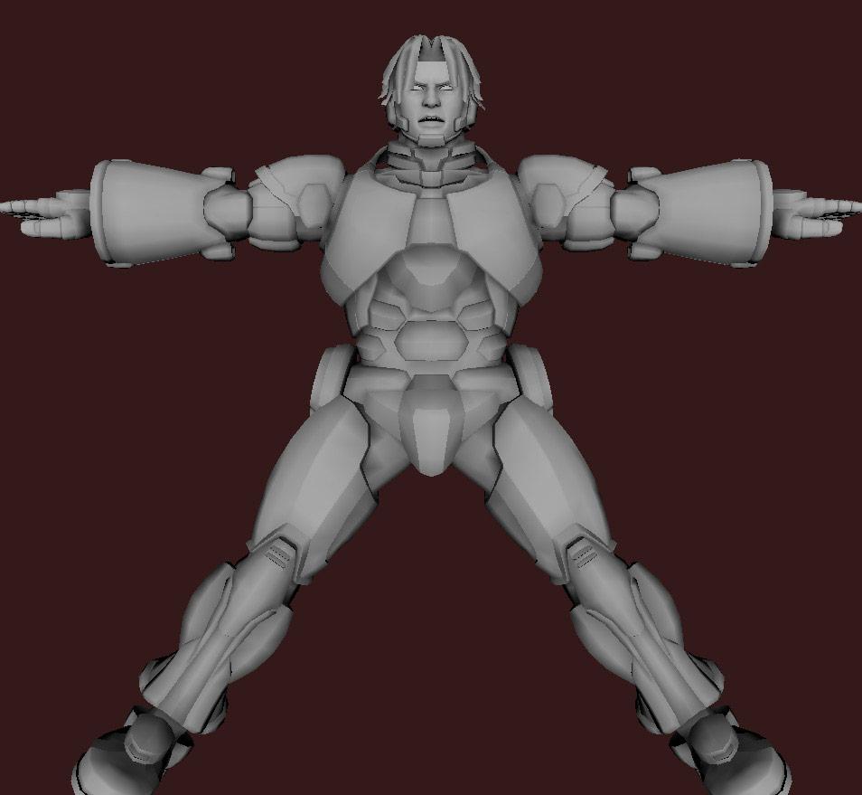 Models of Street Fighter X Tekken characters #70