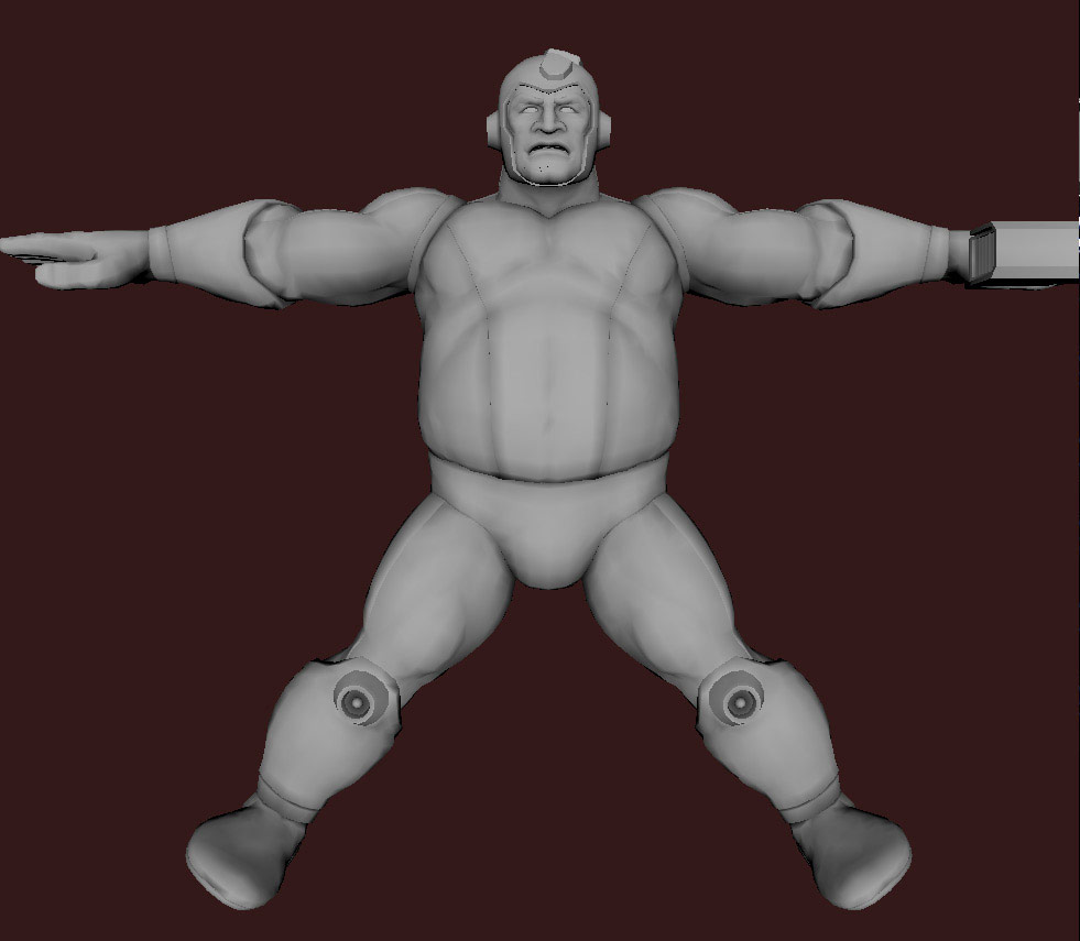 Models of Street Fighter X Tekken characters #75