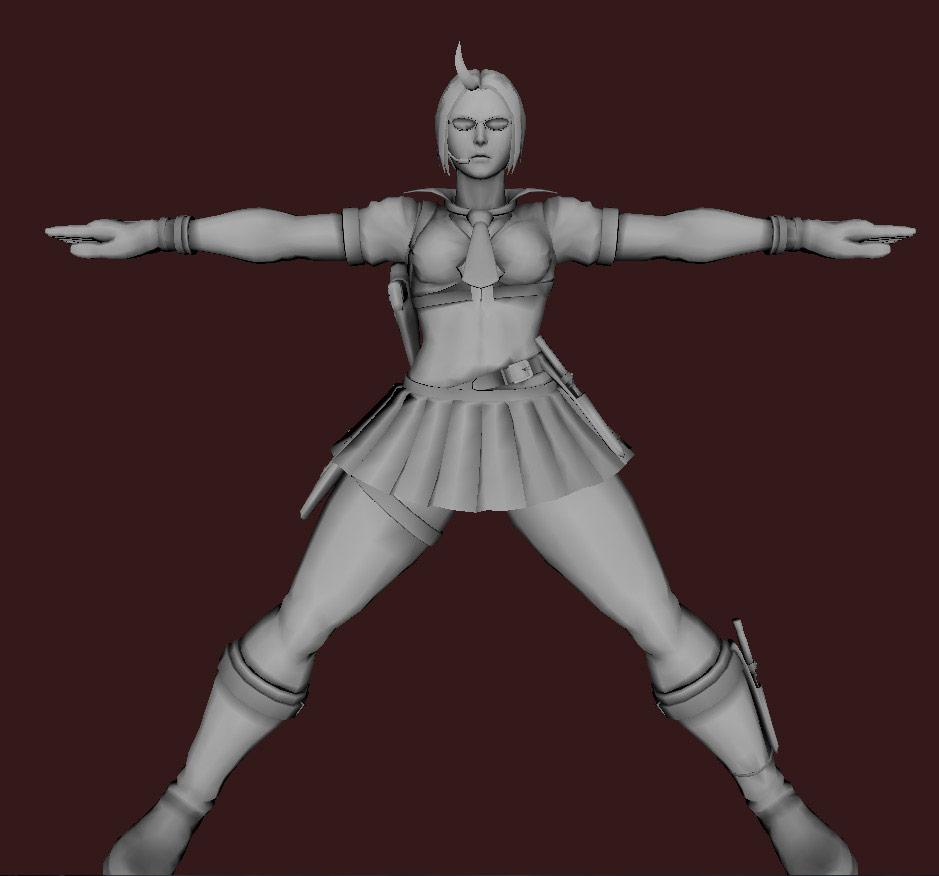 Models of Street Fighter X Tekken characters #77