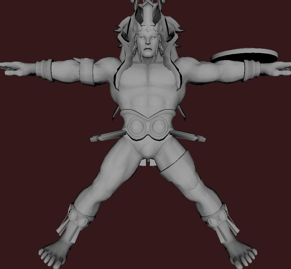 Models of Street Fighter X Tekken characters #78
