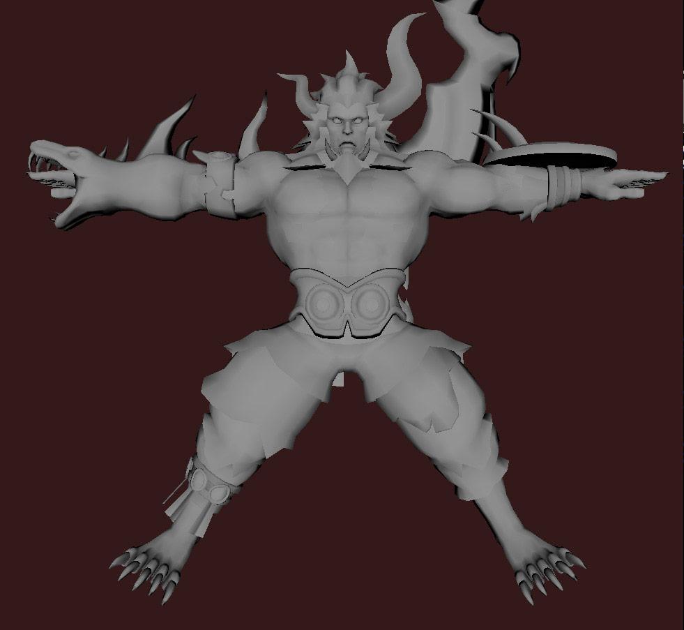 Models of Street Fighter X Tekken characters #79