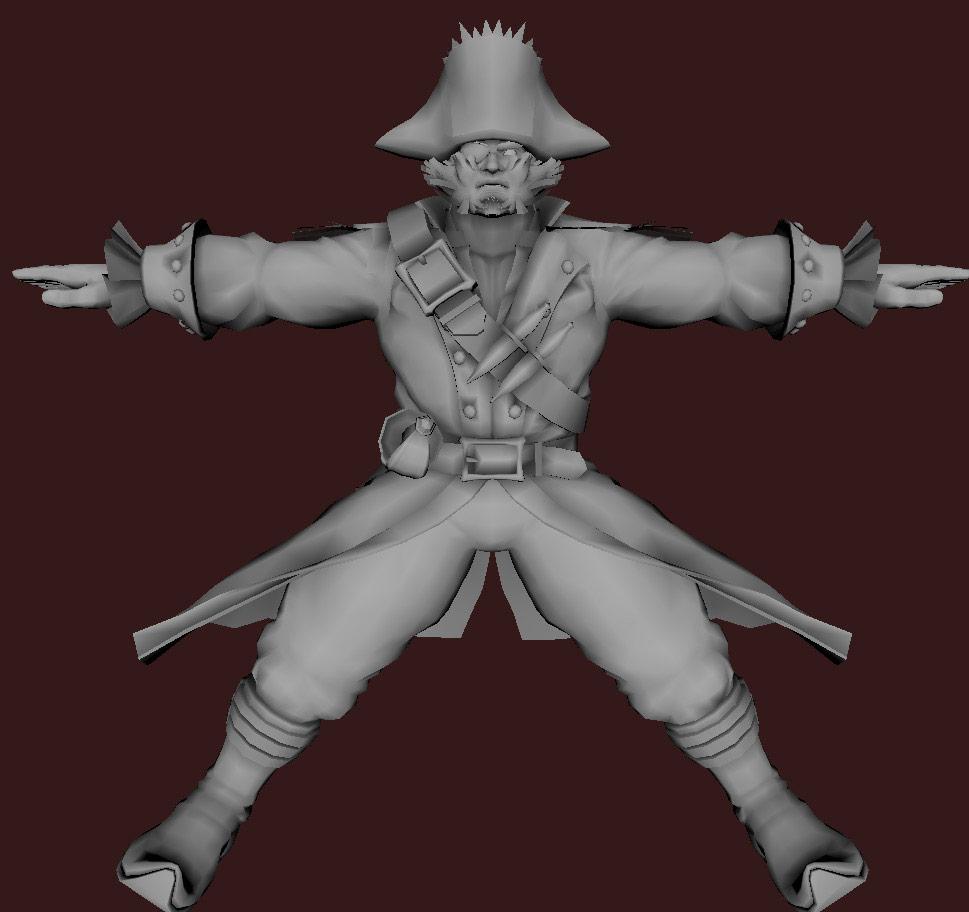 Models of Street Fighter X Tekken characters #82