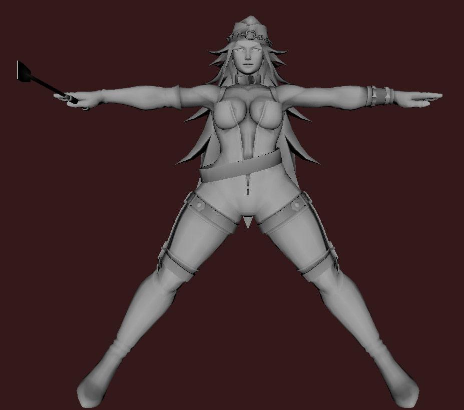 Models of Street Fighter X Tekken characters #84