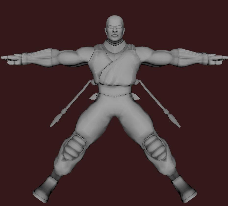 Models of Street Fighter X Tekken characters #85