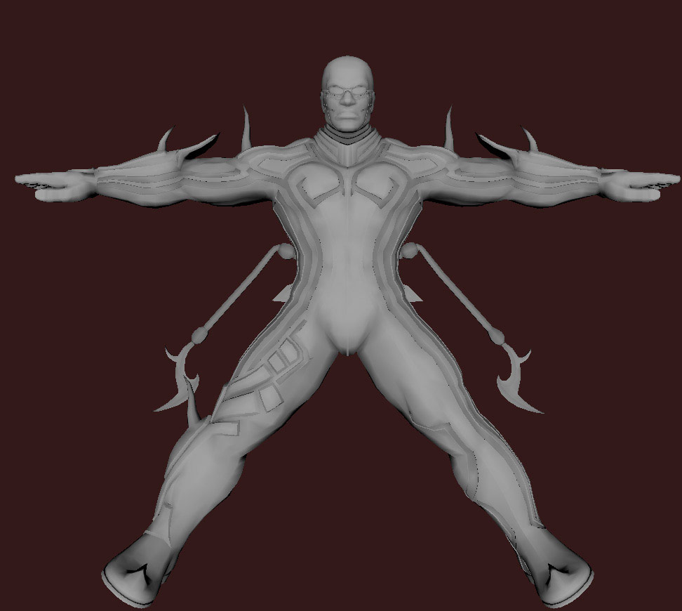 Models of Street Fighter X Tekken characters #86
