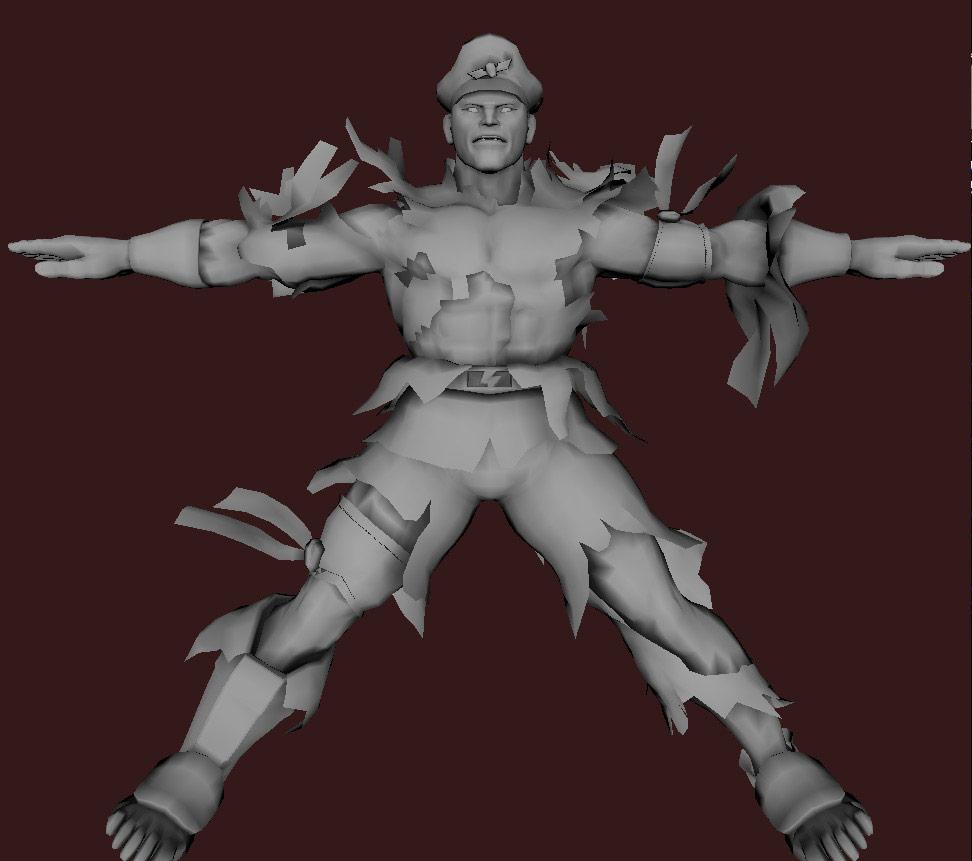 Models of Street Fighter X Tekken characters #90