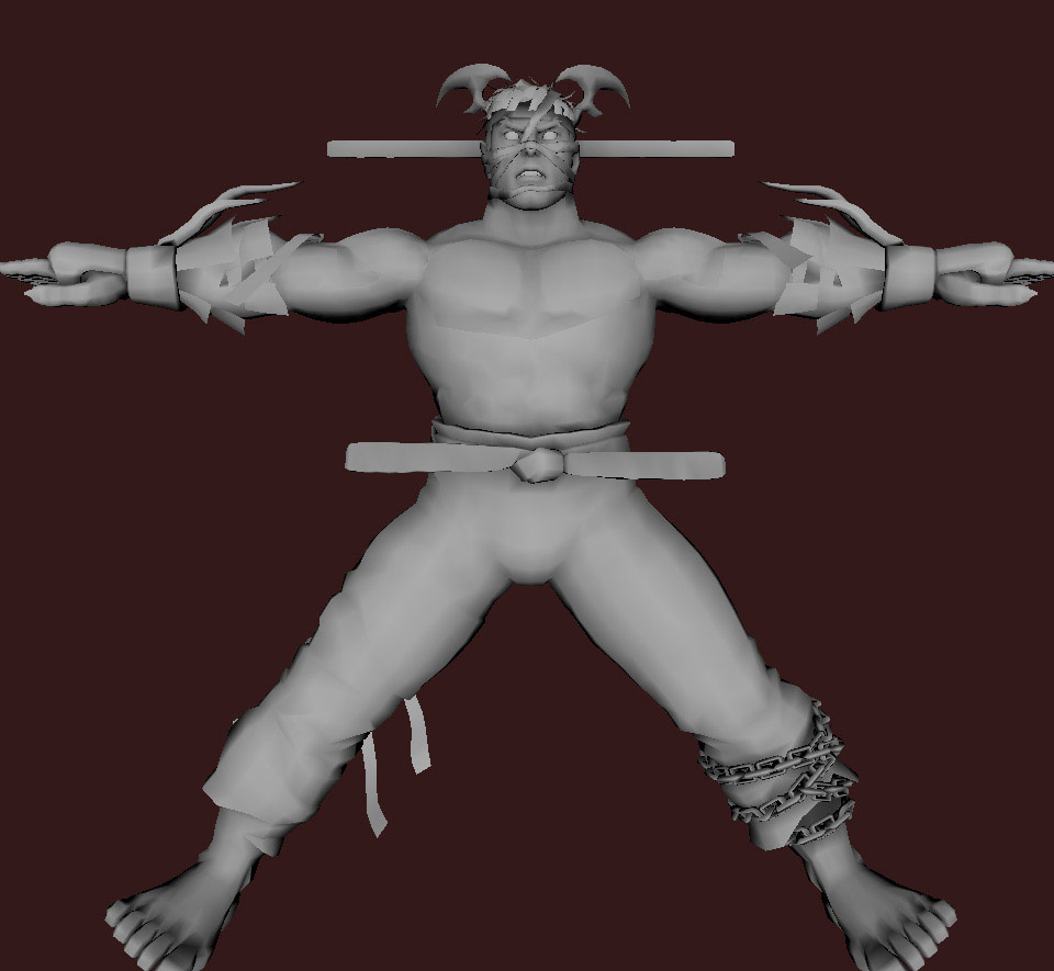 Models of Street Fighter X Tekken characters #91