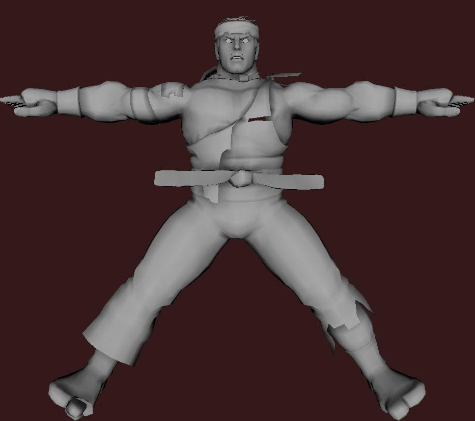 Models of Street Fighter X Tekken characters #92