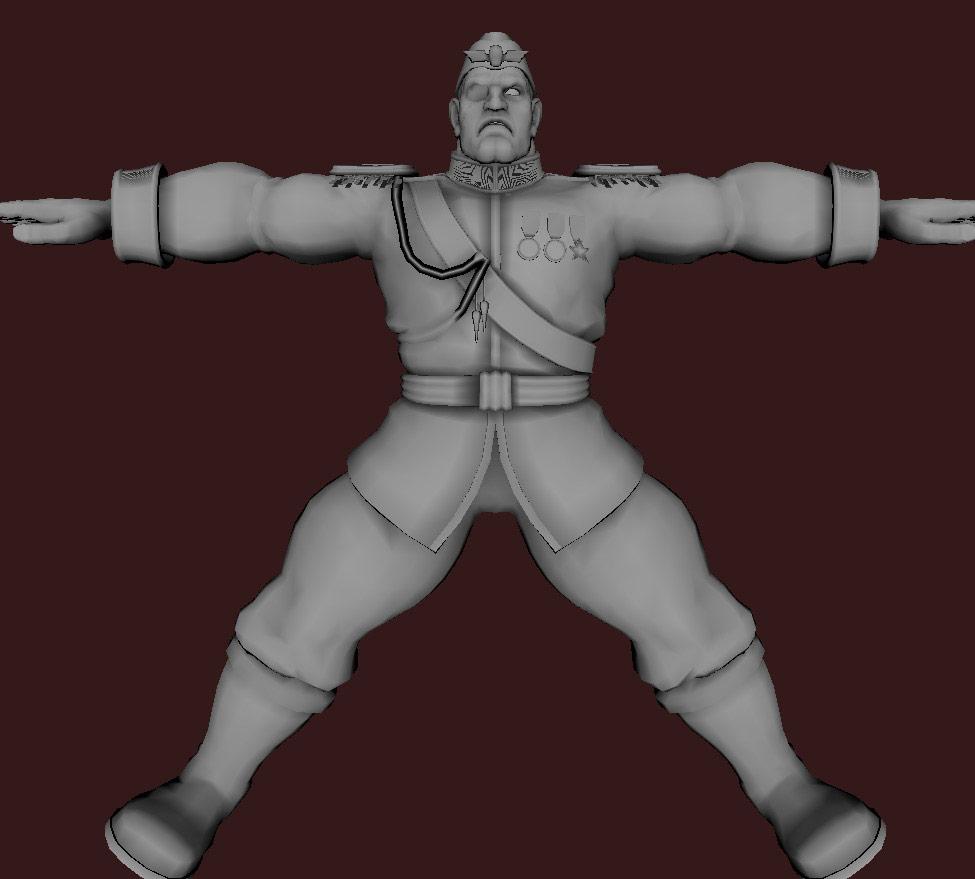 Models of Street Fighter X Tekken characters #93