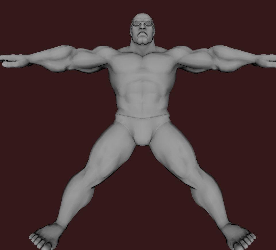 Models of Street Fighter X Tekken characters #94