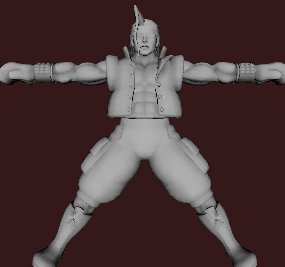 Models of Street Fighter X Tekken characters #97
