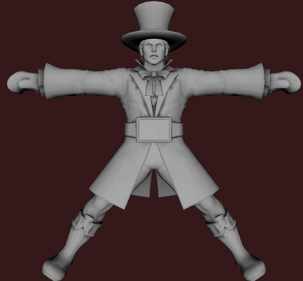 Models of Street Fighter X Tekken characters #98
