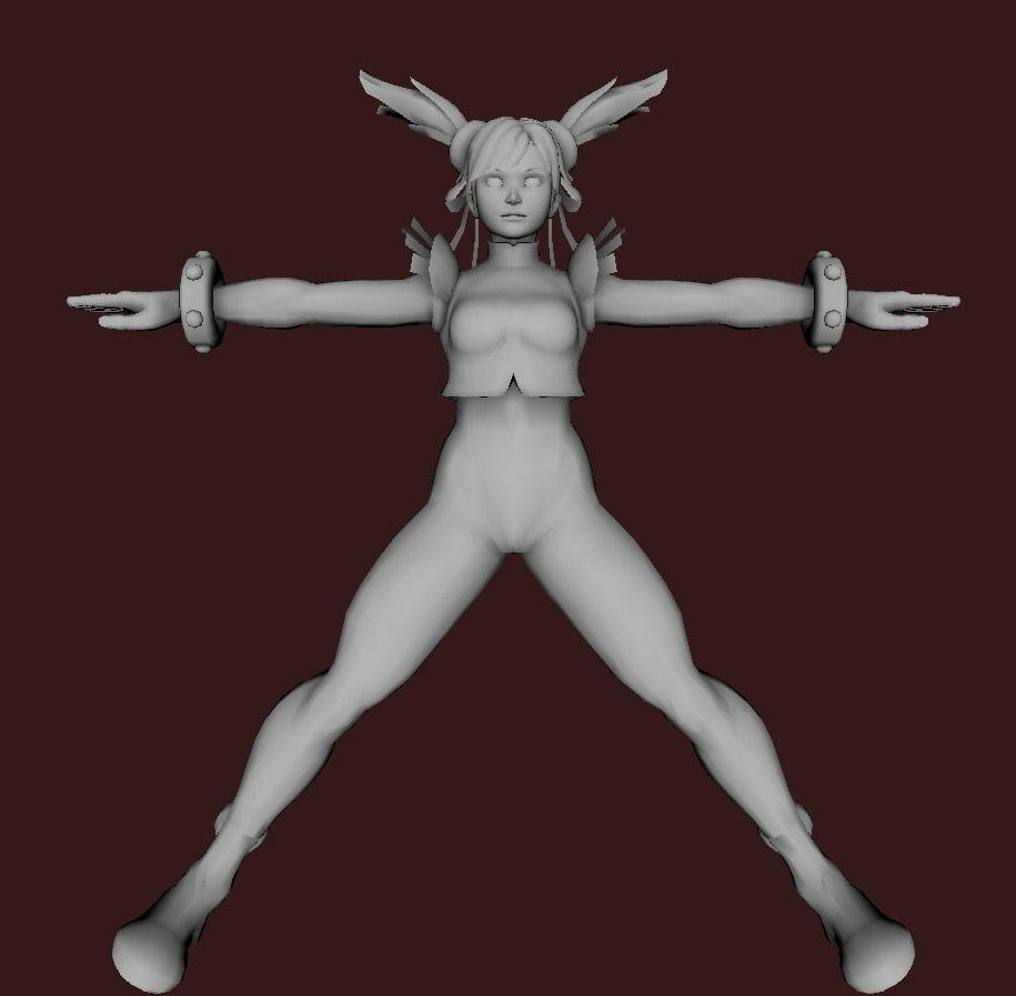 Models of Street Fighter X Tekken characters #99