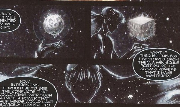 Street Fighter X Tekken cosmic being from the comic