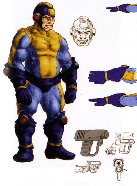 Street Fighter X Tekken Mega Man concept Art #1