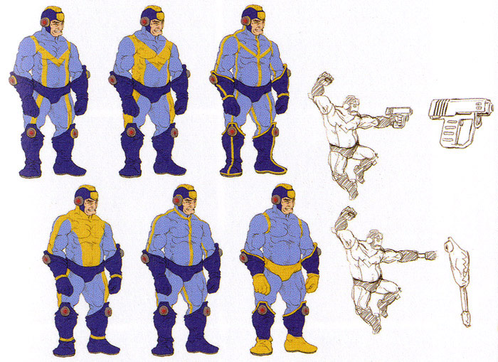 Street Fighter X Tekken Mega Man concept Art #4