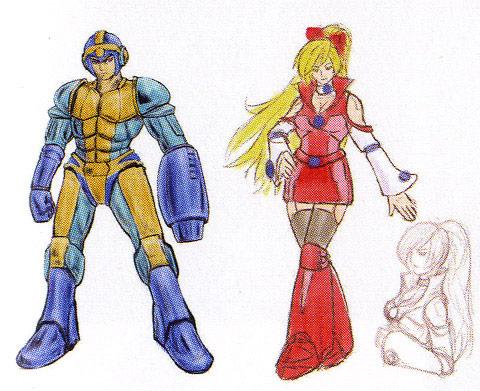 Street Fighter X Tekken Mega Man concept Art #6