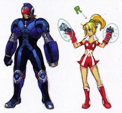 Street Fighter X Tekken Mega Man concept Art #8