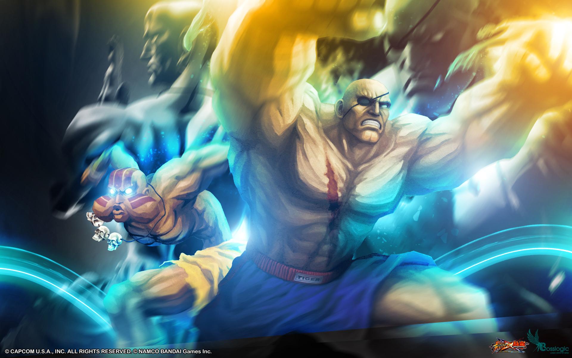 Street Fighter X Tekken Boss Logic Wallpaper 10