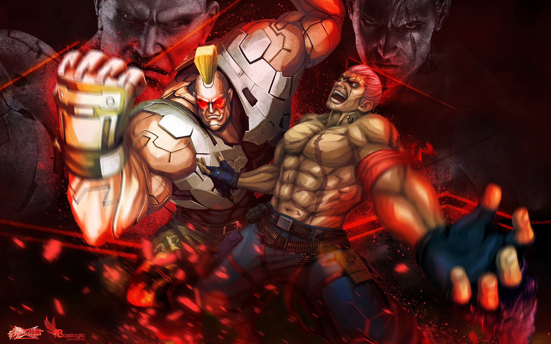 Street Fighter X Tekken Boss Logic Wallpaper 12