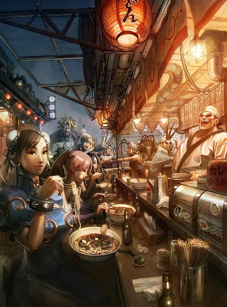 Street Fighter artwork by Arnold Tsang #1