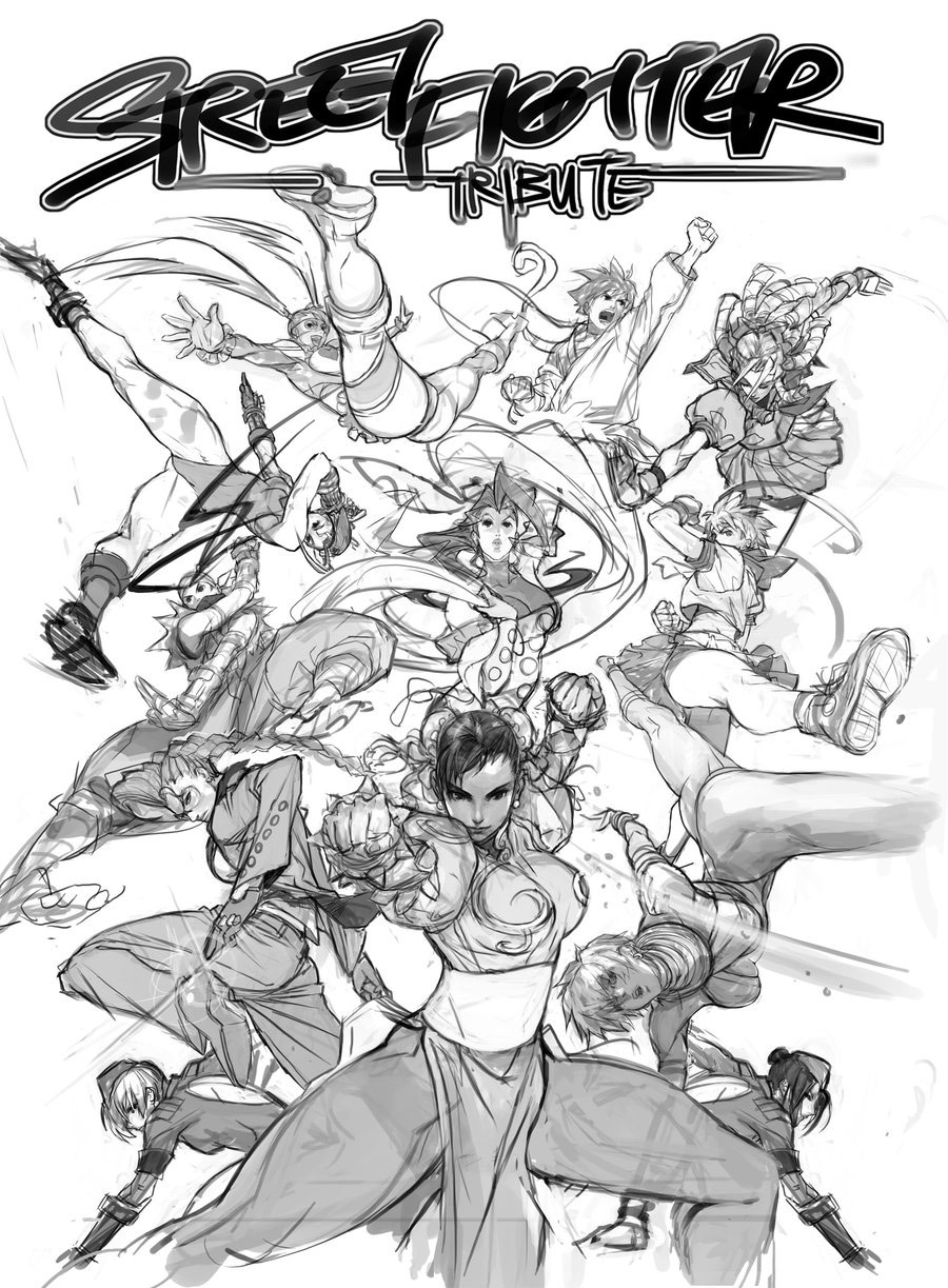 Street Fighter artwork by Arnold Tsang #3