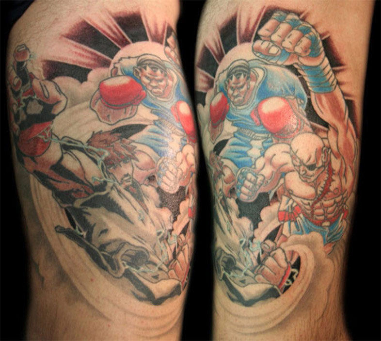 Ugo Rounds Up The Best Street Fighter Tattoos