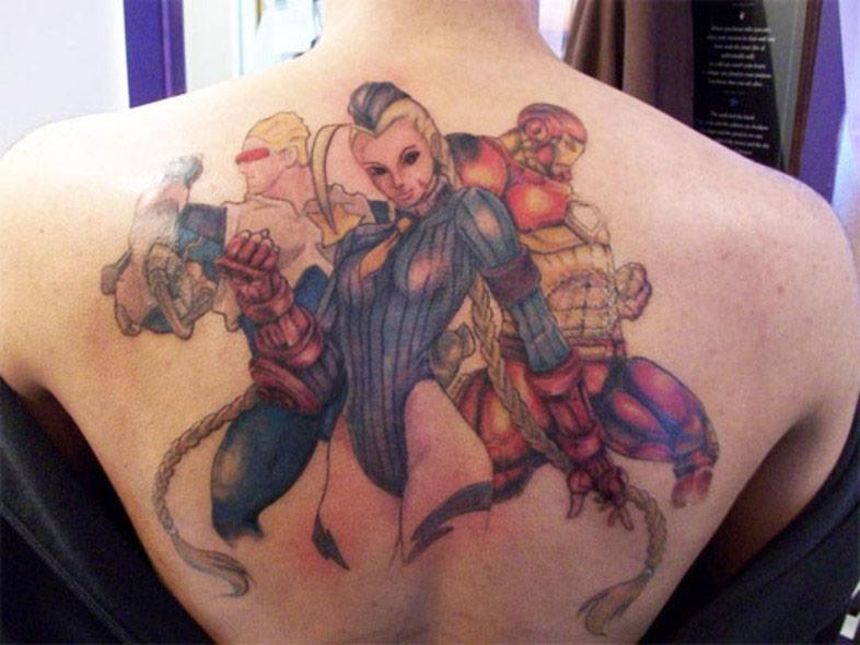 Street Fighter Themed Tattoos 4
