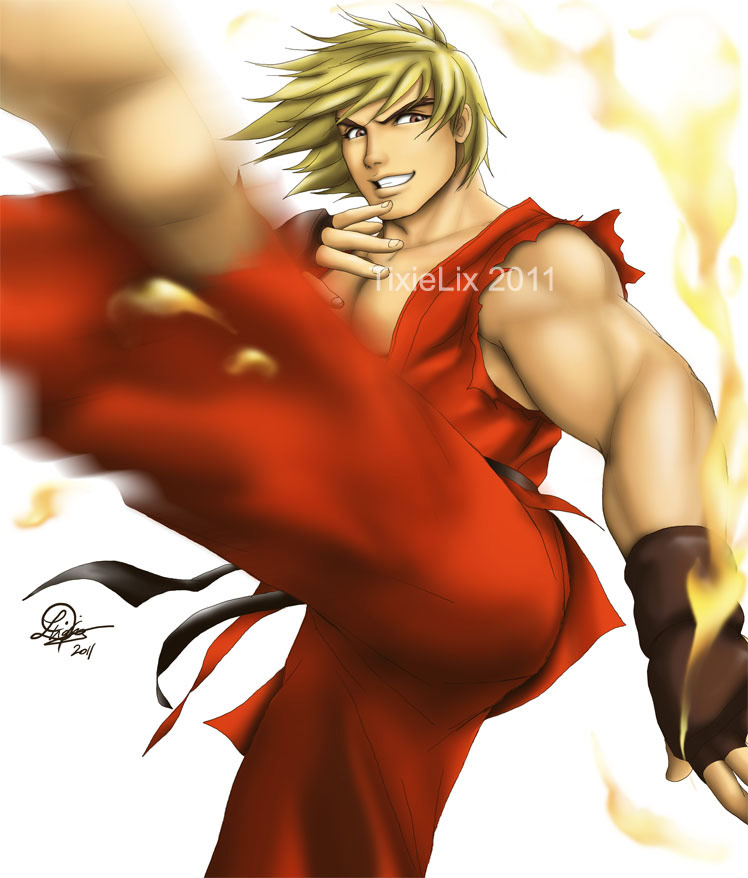 Fighting game artwork by TixieLix #4