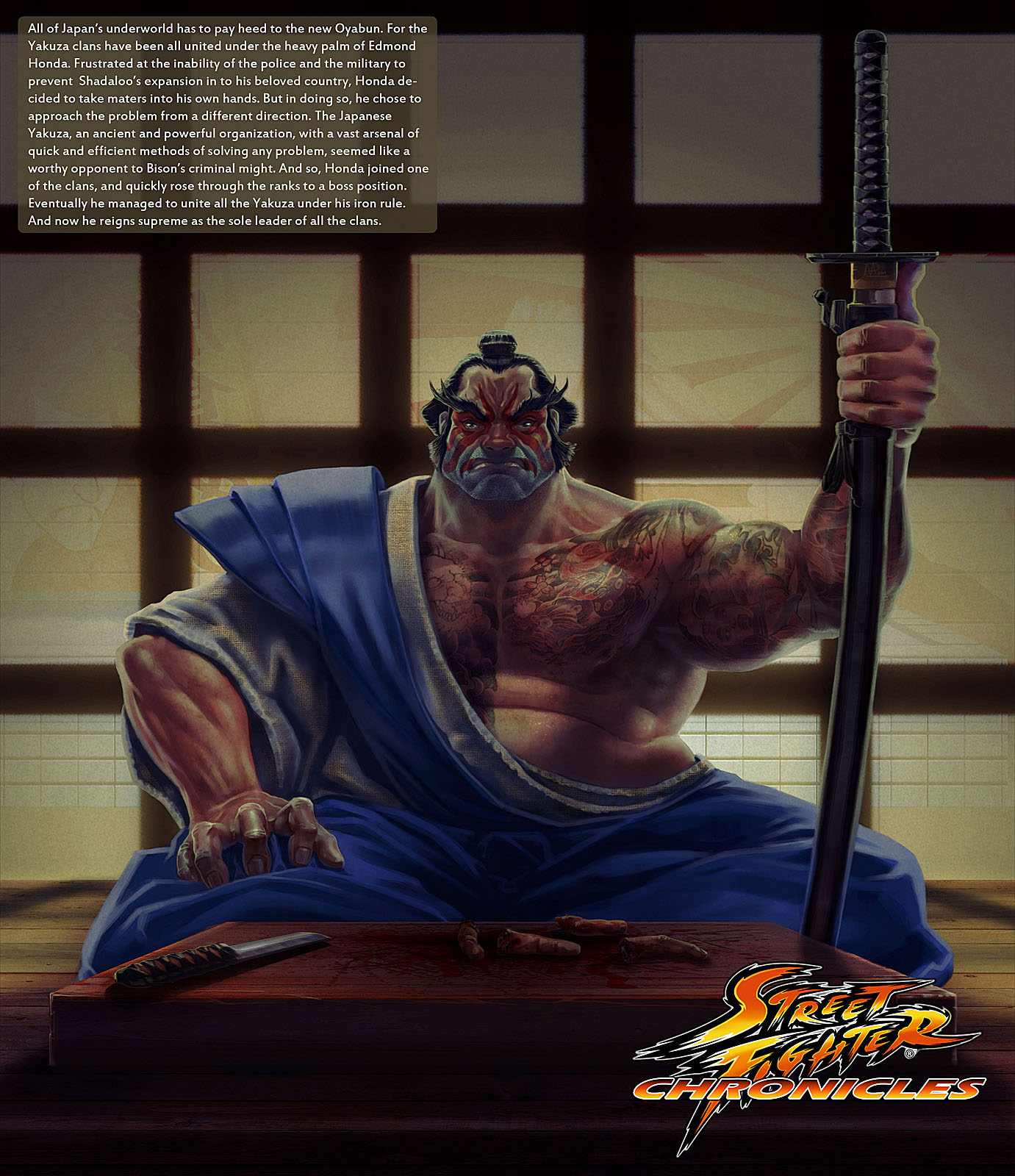 Street Fighter Chronicles artwork by Arman Akopian #1