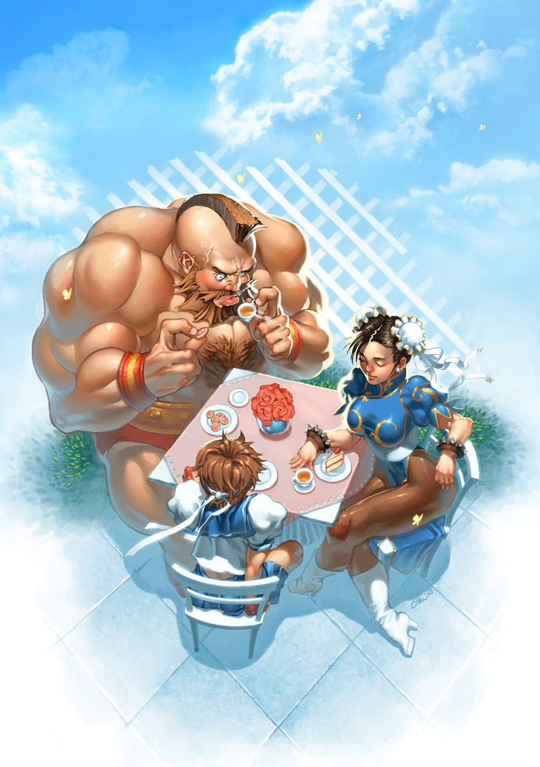 Frozenlilac's Street Fighter artwork #1