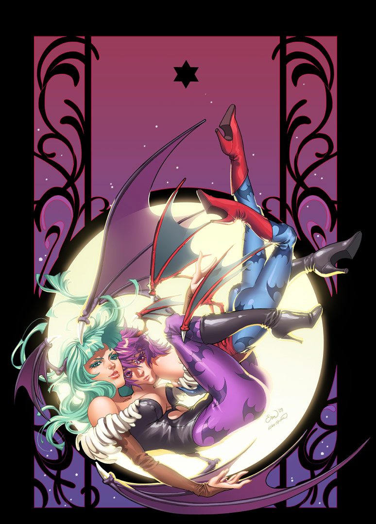 Frozenlilac's Darkstalkers artwork #2