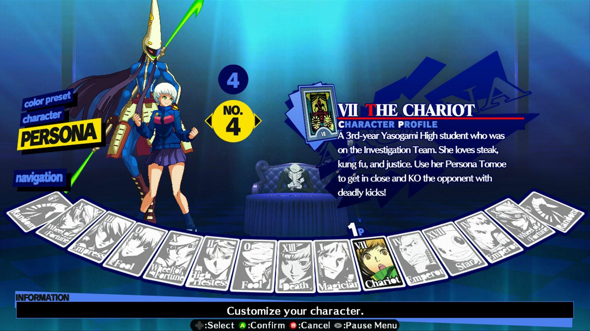 Persona 4: Arena - Alternate colors #20