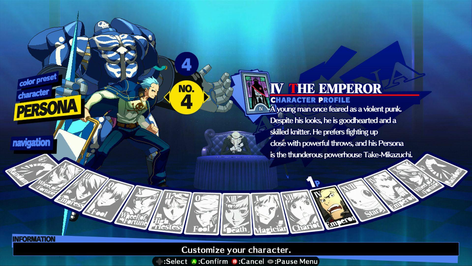 Persona 4: Arena - Alternate colors #36