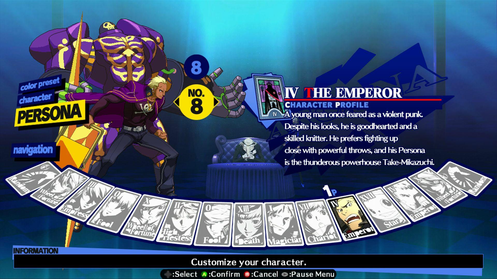 Persona 4: Arena - Alternate colors #40