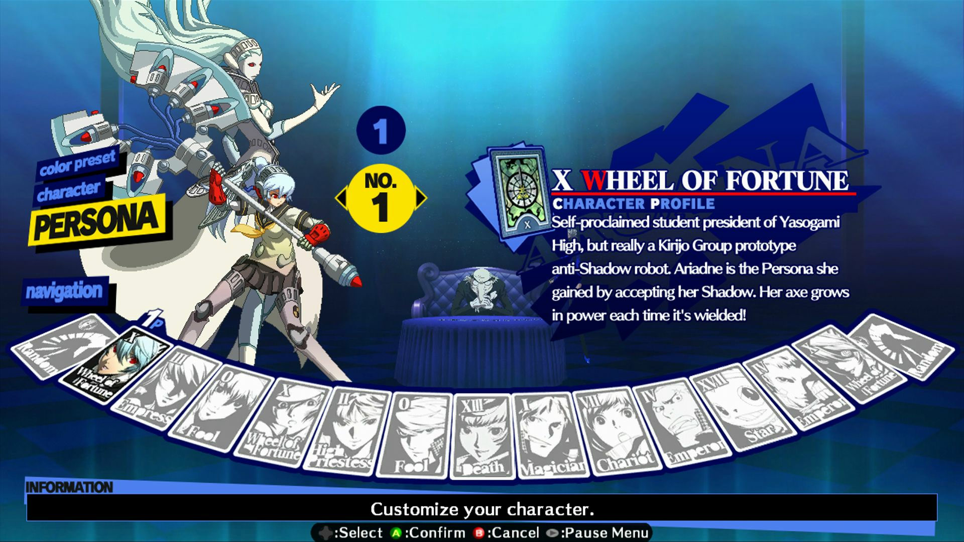 Persona 4: Arena - Alternate colors #41