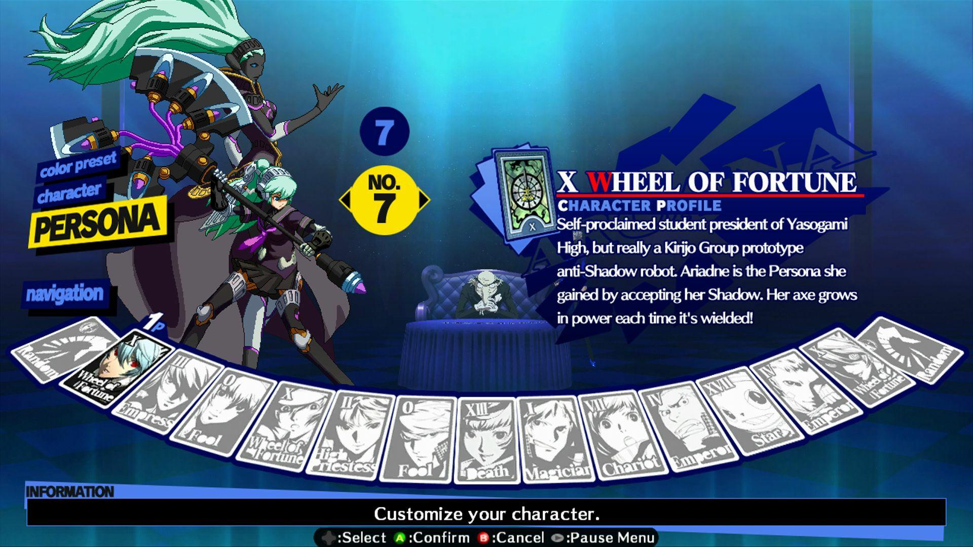 Persona 4: Arena - Alternate colors #47