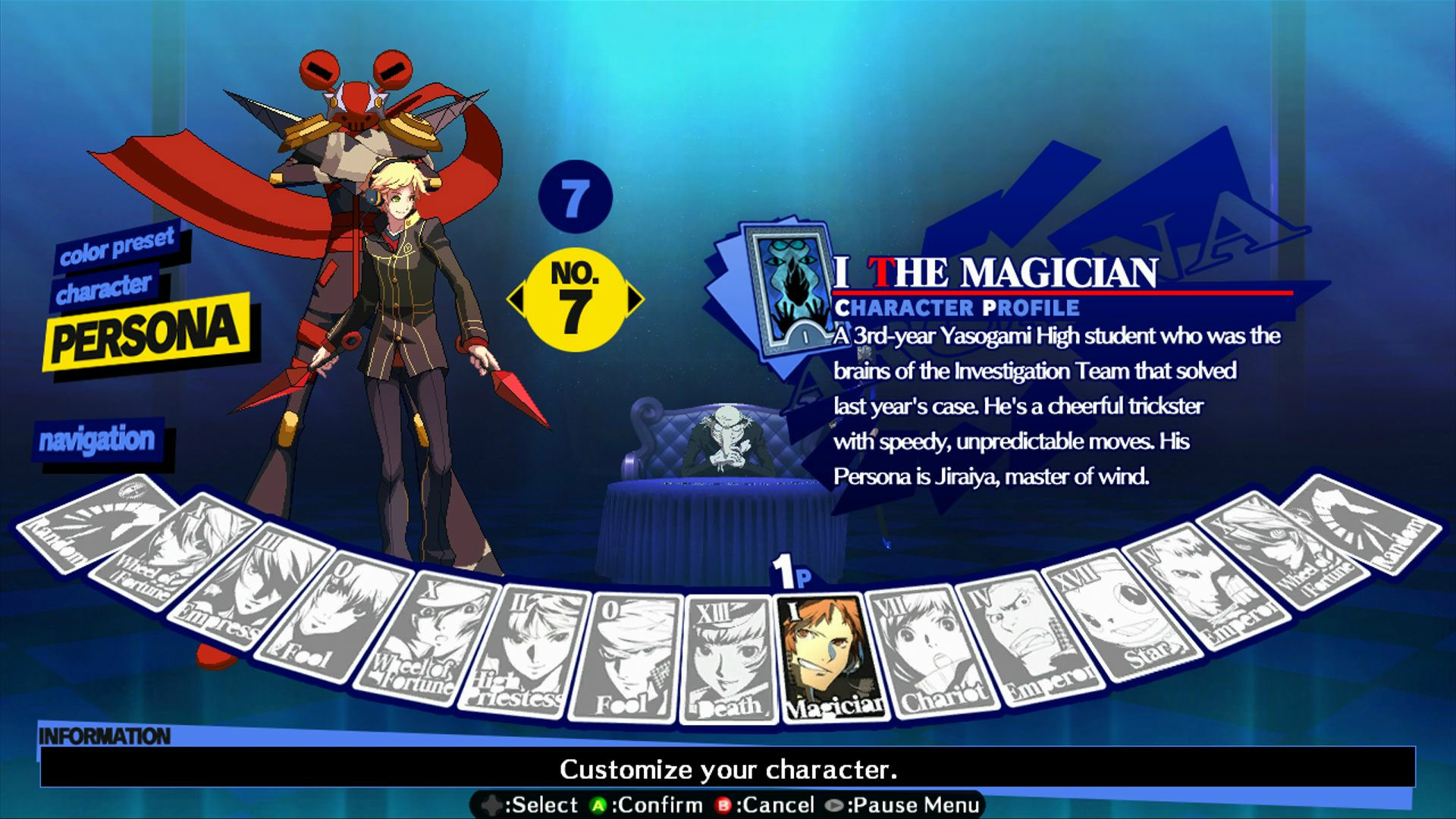 Persona 4: Arena - Alternate colors #79