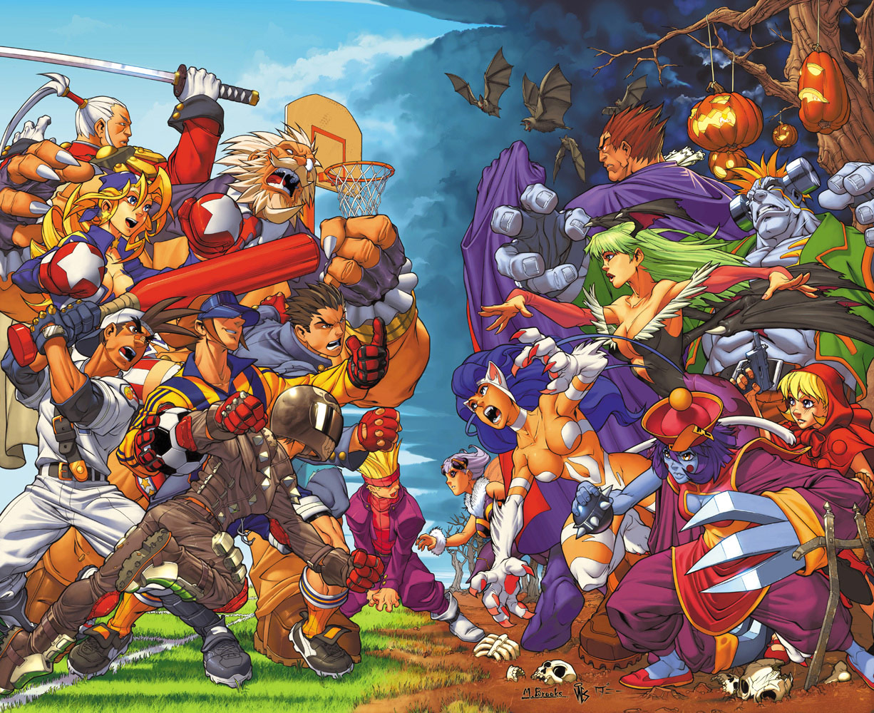 Fighting game and Marvel artwork by Mark Brooks #3