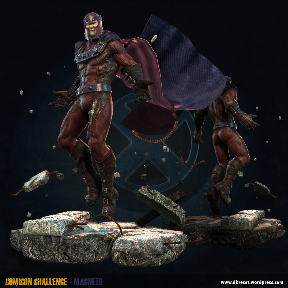 Marvel vs. Capcom 3 renders and artwork by David Kuo #2