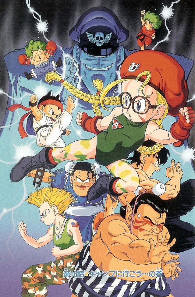 Dragon Ball Creator Akira Toriyama S Street Fighter Artwork