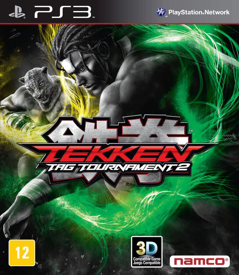 Tekken Tag Tournament 2 Alternate Cover Art 08