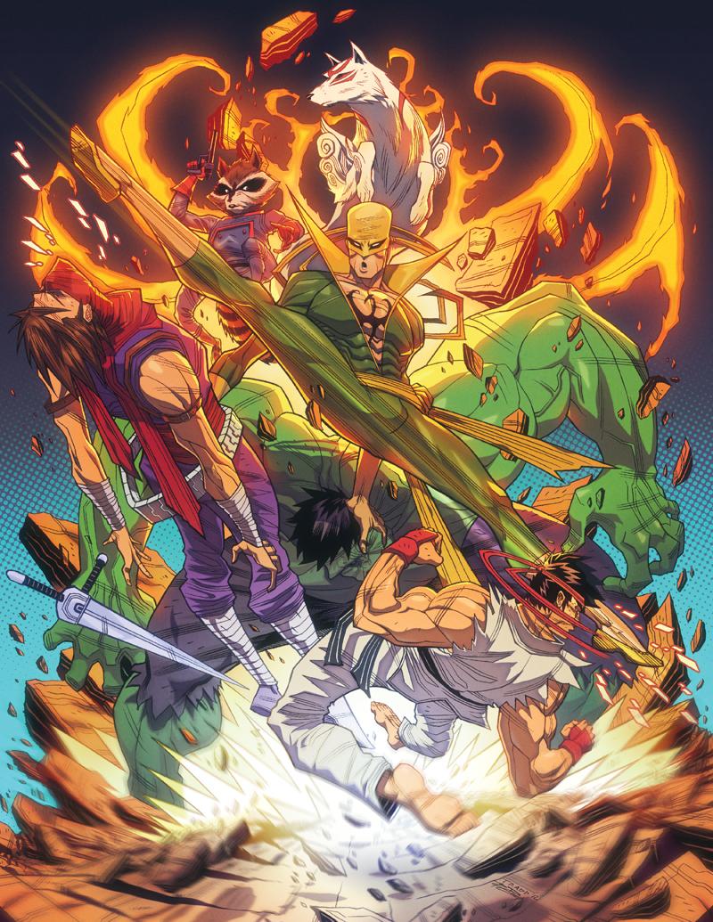Tradd's fighting game artwork #9