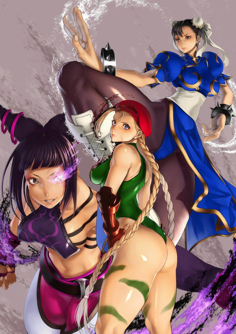 Kazakami fighting game artwork #4
