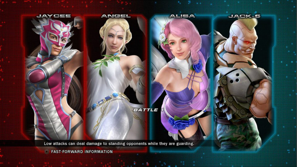 Tekken Tag Tournament 2 - Custom in game panels #01
