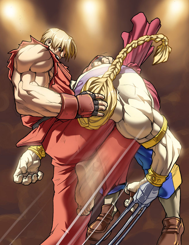 UFS Street Fighter card game artwork from a variety of artists #6