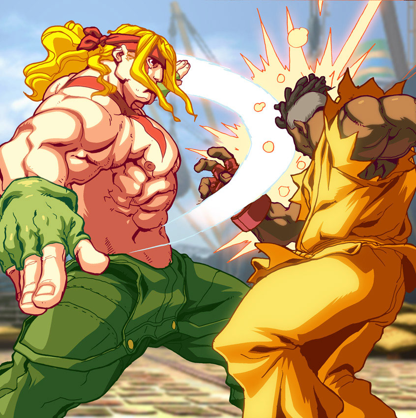 UFS Street Fighter card game artwork from a variety of artists #7